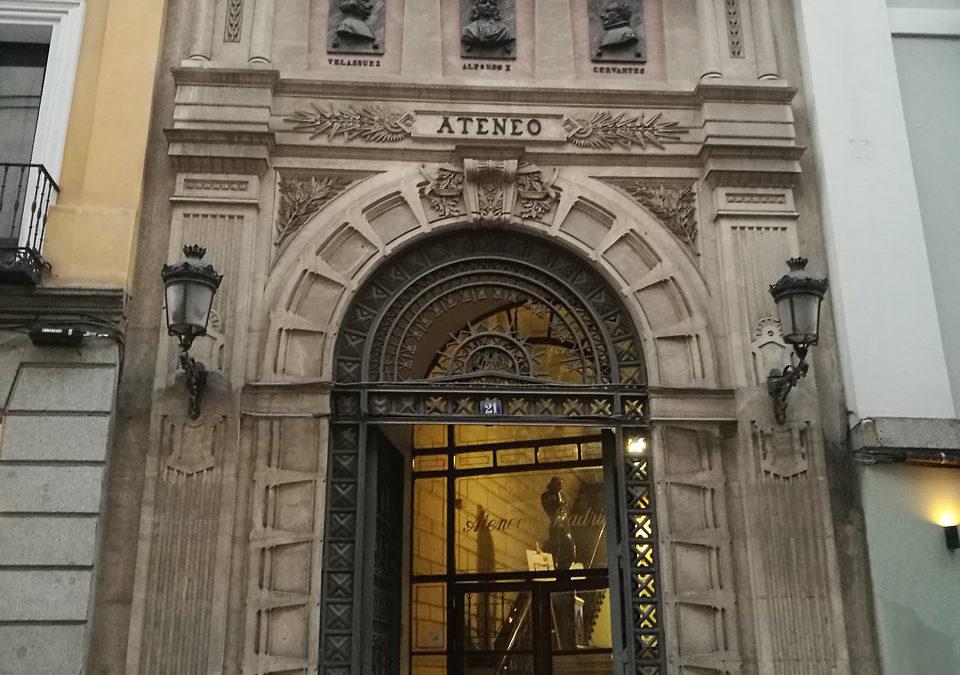 La nueva sede de la Casa de Úbeda en Madrid se encuentra en el histórico Ateneo